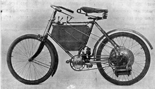 First Peugeot Motocycles motorbike
